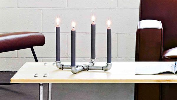 Pipework candelabra