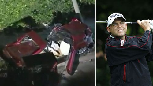 'Very fortunate' Bill Haas has withdrawn from an upcoming golf tournament after the smash.