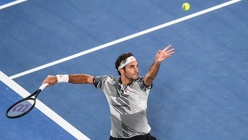 Federer shows class in round one win