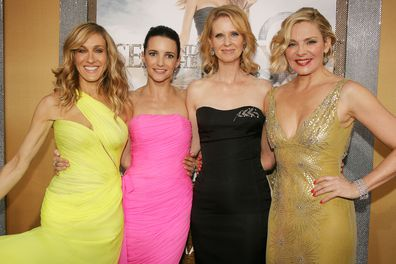 Sarah Jessica Parker with 'Sex and the City' co-stars Kristin Davis, Cynthia Nixon and Kim Cattrall in 2010.