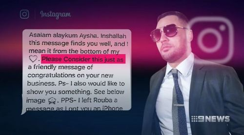 Mehajer has pleaded not guilty to breaching his AVO. (9NEWS)