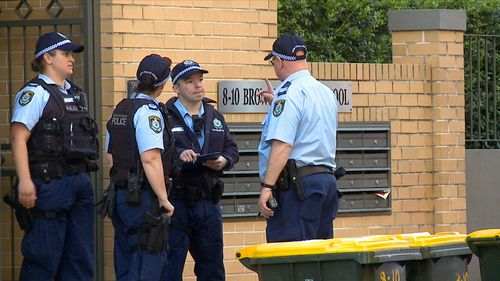 NSW Police said the alleged suspect is believed to have fled the scene on foot.