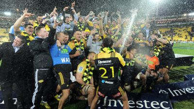 The Hurricanes overcame 21 years of Super Rugby heartbreak to win their maiden title. (AAP)