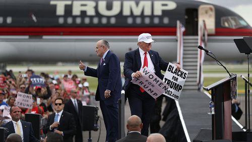 Giuliani: Trump would fight any effort to subpoena him