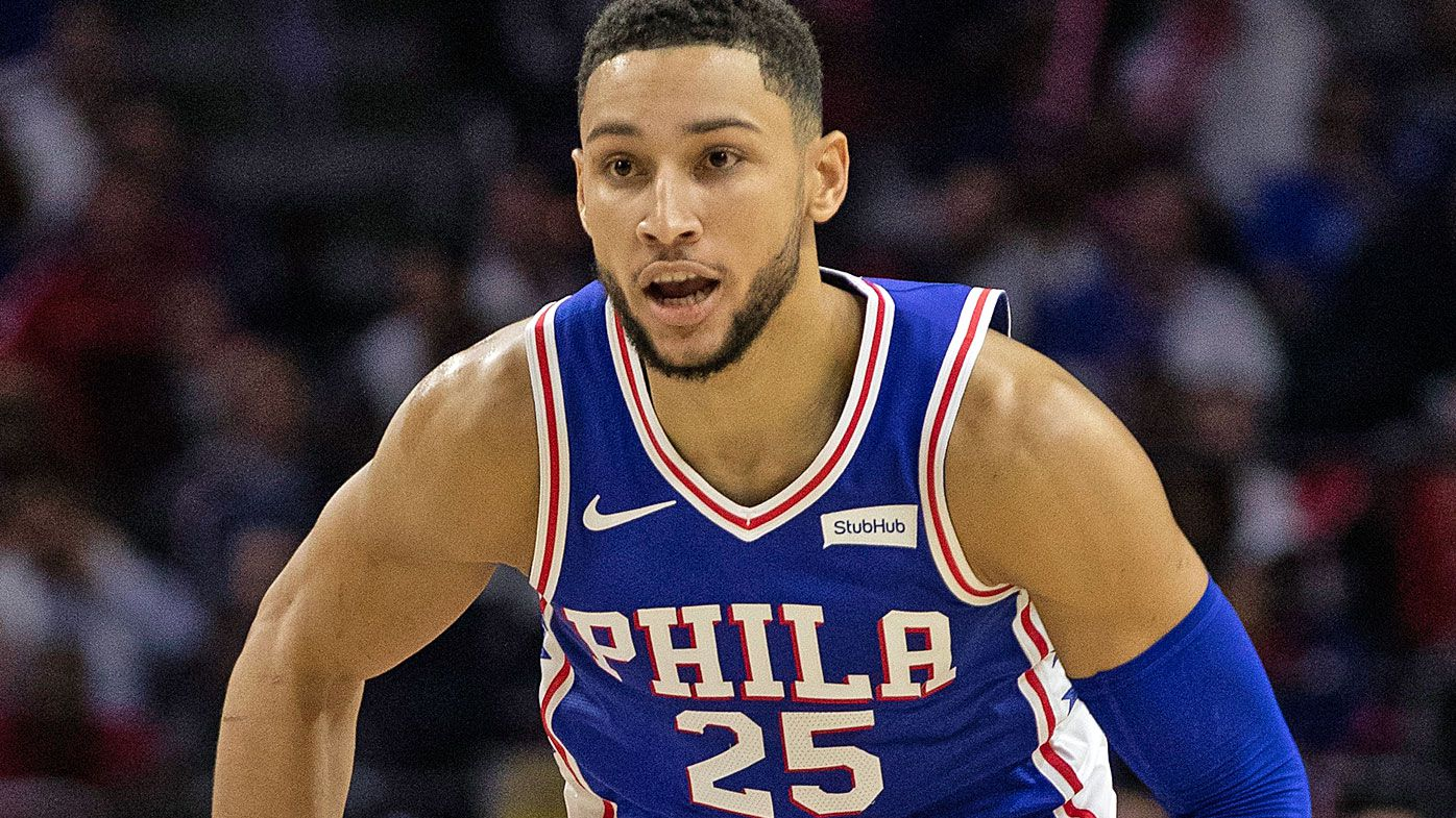 Philadelphia 76ers Aussie Ben Simmons in doubt for game against Detroit over mysterious back injury