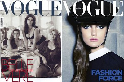 <I>Vogue</I> LOVES Robyn... with her sultry Italian shoot making headlines, before gracing the Australian mag as it's first ever plus-size cover girl.