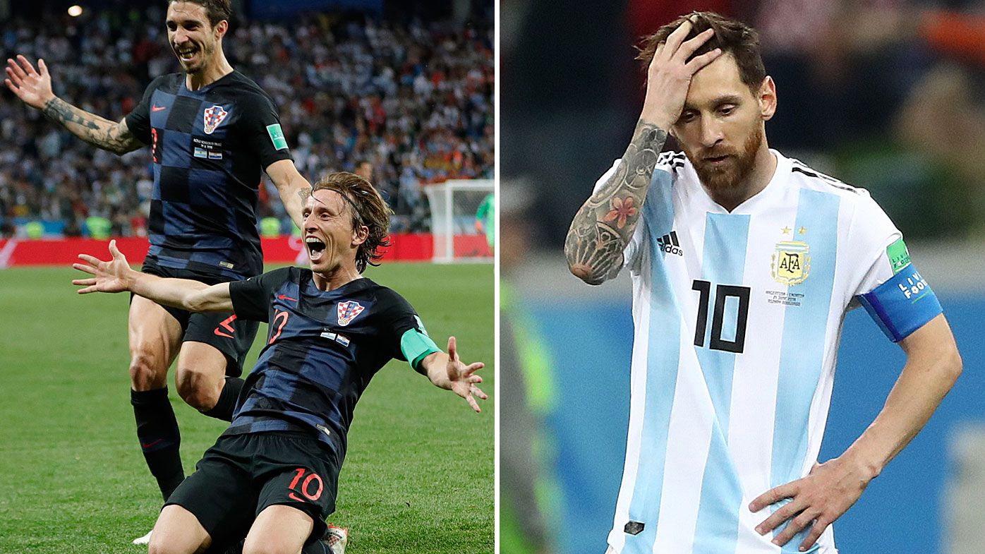 Croatia defeat Argentina