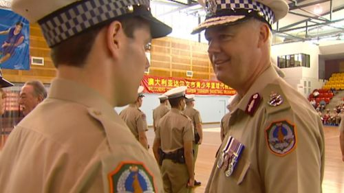 Mr McRoberts was Police Commissioner for the Northern Territory for five years. (9NEWS)