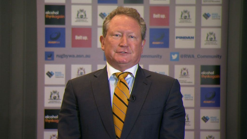 Andrew 'Twiggy' Forrest calls for ARU chief's resignation