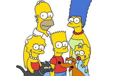 The Simpsons' dog is <B>Santa's Little Helper</B> (aka Santos L. Halper).
