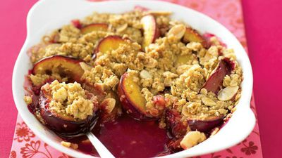 "<a href=""http://kitchen.nine.com.au/2016/05/13/11/19/cinnamon-crunch-plum-crumble"" target=""_top"">Cinnamon crunch plum crumble</a><br> <br> <a href=""http://kitchen.nine.com.au/2017/01/11/14/35/food-fight-british-desserts-v-australian-desserts"" target=""_top"">RELATED: Food fight: British dessert v Australian desserts</a>"