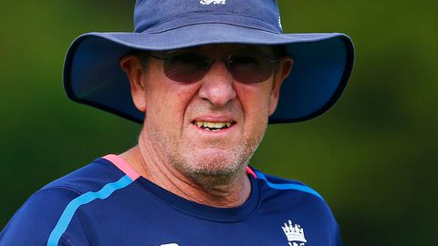 England coach Trevor Bayliss.