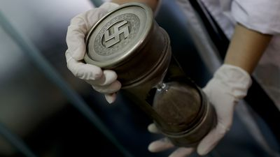 Rare Nazi artefacts discovered in a hidden room in Argentina