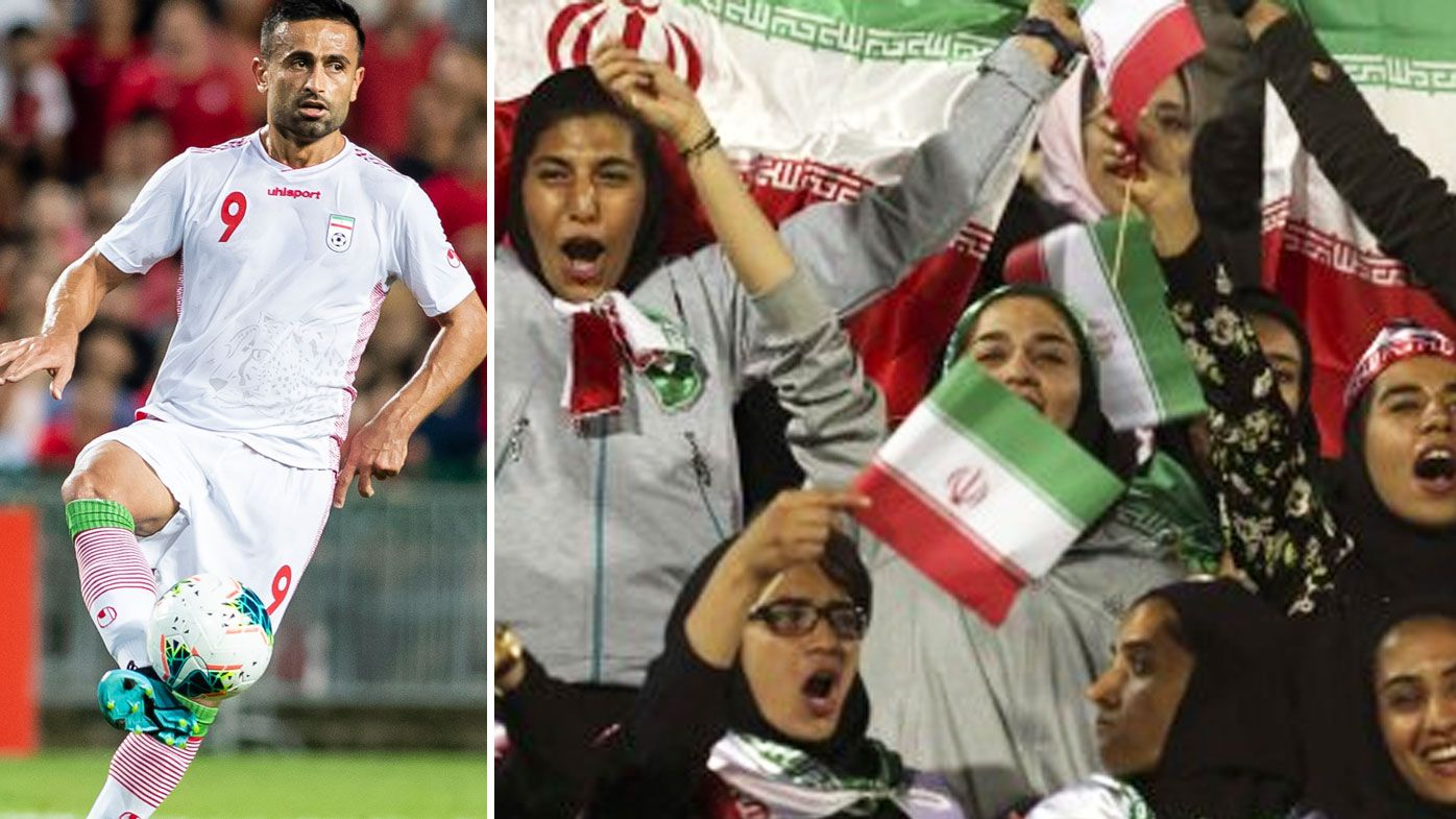 Iranian women allowed to enter football stadium for first time in 40 years