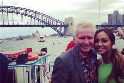 "@jessicamauboy1: ""Performed out on the #sydneyharbour #bluespointand had the pleasure of chatting and sharing the stage with the one and only #IvaDavies #IceHouse #GreatSouthernLand woot woot woot!!!"""