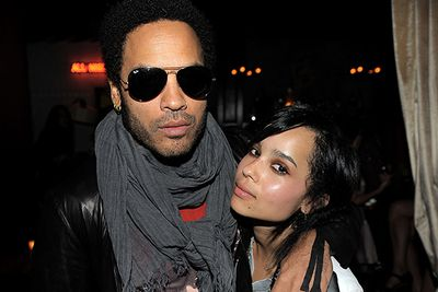 Though Zoe Kravitz may have briefly dabbled in the music industry, the young actress seems intent on deviating from her father's career, picking up roles in <i>X-Men</i>, <i>After Earth</i> and <i>Divergent</i>. Pappa Lenny on the other hand has been all too keen to test the waters of his daughter's industry, most recently playing the role of Cinna in the hugely successful 'Hunger Games' franchise.