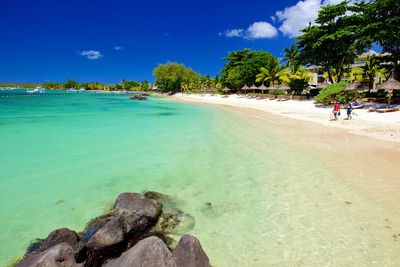 "<p class=""MsoNormal""><strong>Trou aux Biches Beach - Mauritius</strong></p>"