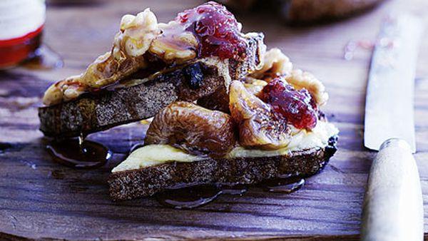 Hugh's cheese on toast