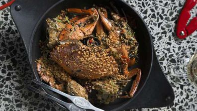 Andrew McConnell's typhoon shelter mud crab