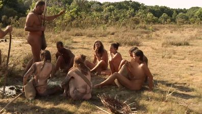 The tribe gathers to discuss their plans.