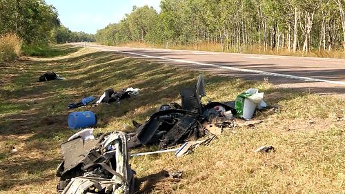 The first crash saw a head-on collision between a truck and a Mitsubishi Lancer near Barrett Road at Mutarnee.