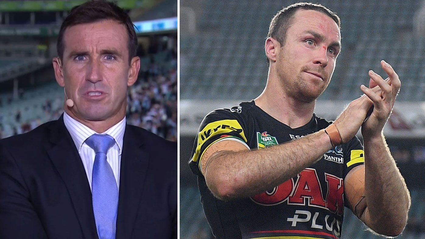 'I thought it was the worst performance of the year': Andrew Johns lashes James Maloney in Panthers loss