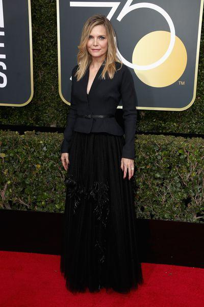 ActressMichelle Pfeiffer in Dior Haute Couture