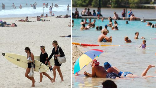South-east Queensland set to sizzle, with 35C forecast for Brisbane