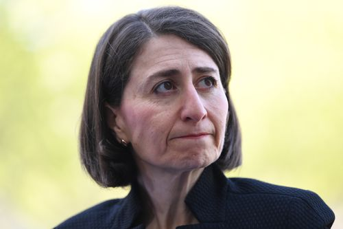 Premier Gladys Berejiklian needs a strong result from the Nationals during this weekend's by-election in Murray. (AAP)