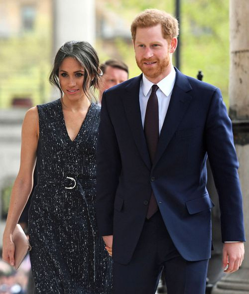 Meghan Markle and Prince Harry at the Stephen Lawrence memorial.