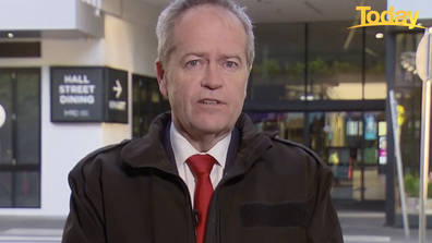Bill Shorten thanked healthcare workers for their work on the frontline over the past two years.