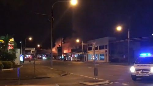 News Brisbane businesses shops destroyed fire emergency Coorparoo Queensland Australia