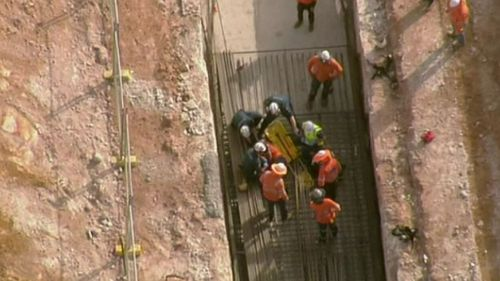 Man pulled from trench after fall at Mango Hill building site