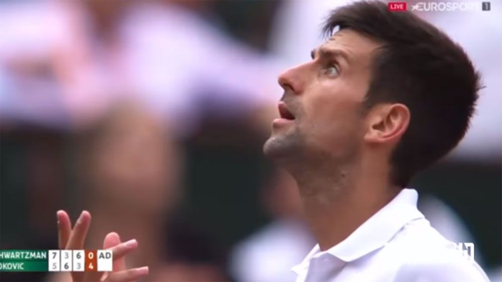 Defending champion Novak Djokovic goes nuts at chair umpire at French Open