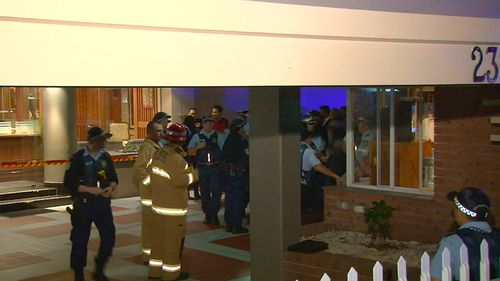 Emergency services were called to the scene. (9NEWS)