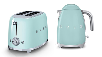 Smeg retro 50s style toaster and kettle