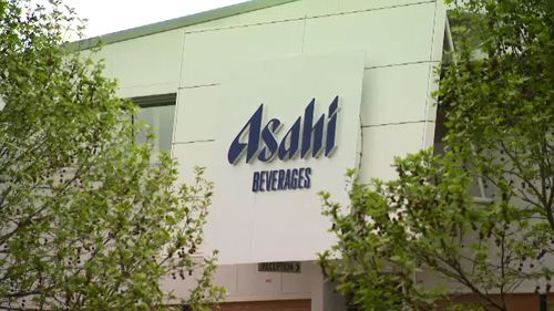 Asahi, owner of Schweppes, purchases the water from the area.