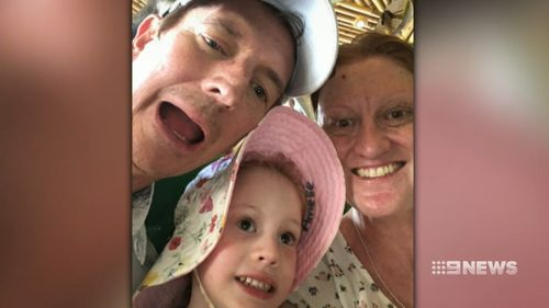 """The family is """"overwhelmed"""" with the generosity of strangers. Picture: 9NEWS"""