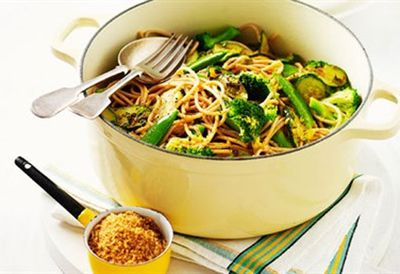 "<a href="" /recipes/ivegetable/8349736/wholemeal-vegetable-spaghetti-with-garlic-crumbs "" target=""_top"">Wholemeal vegetable spaghetti with garlic crumbs<br> </a>"