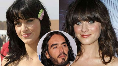 Russell Brand is chasing Katy Perry's lookalike Zooey Deschanel