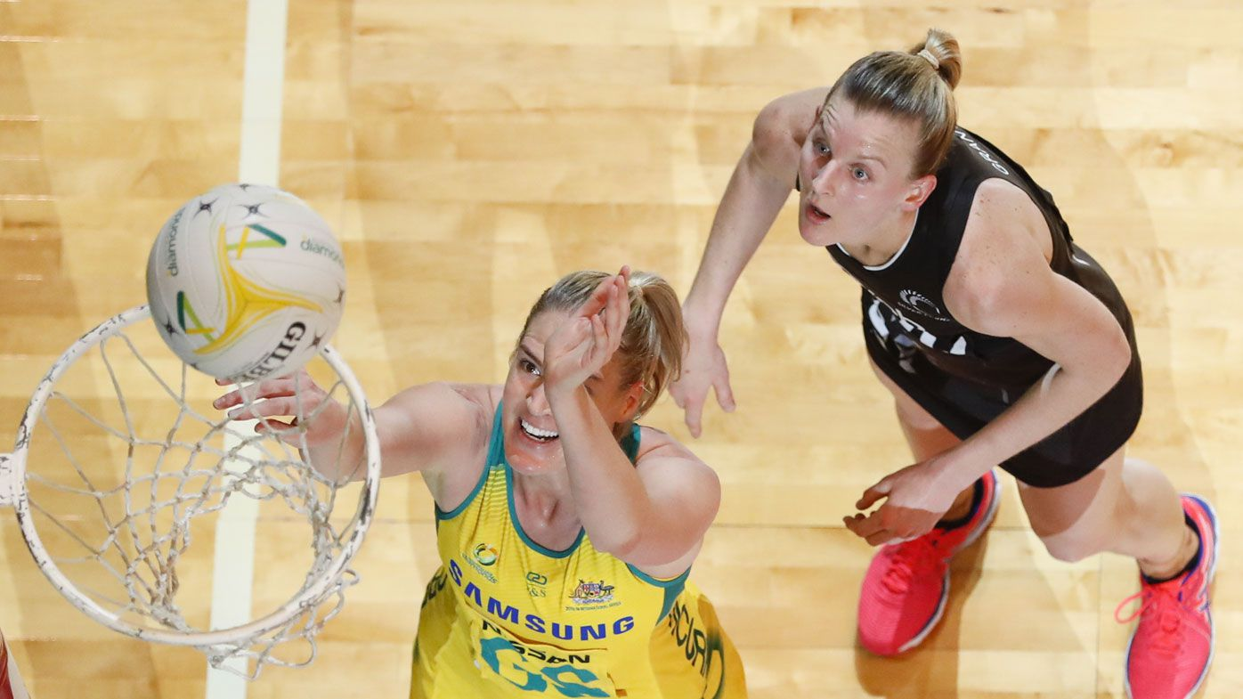 Diamonds close in on record netball mark