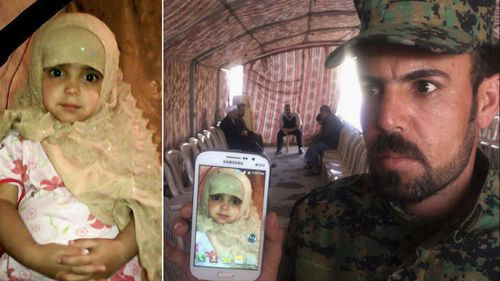 Family mourns three-year-old girl killed in chemical attacks launched by ISIL