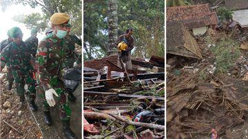 Indonesia tsunami earthquake December