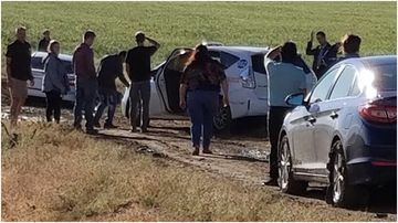 Google Maps lead nearly 100 drivers into a muddy remote field when they tried to find a detour.