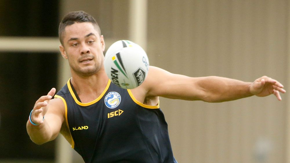 Parramatta Eels NRL star Jarryd Hayne addresses media over rape allegations
