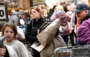 Black Friday: Billions spent within hours as US begins day of major sales