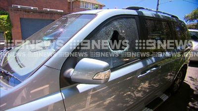 Two-hour hunt for parents after toddler found locked in car