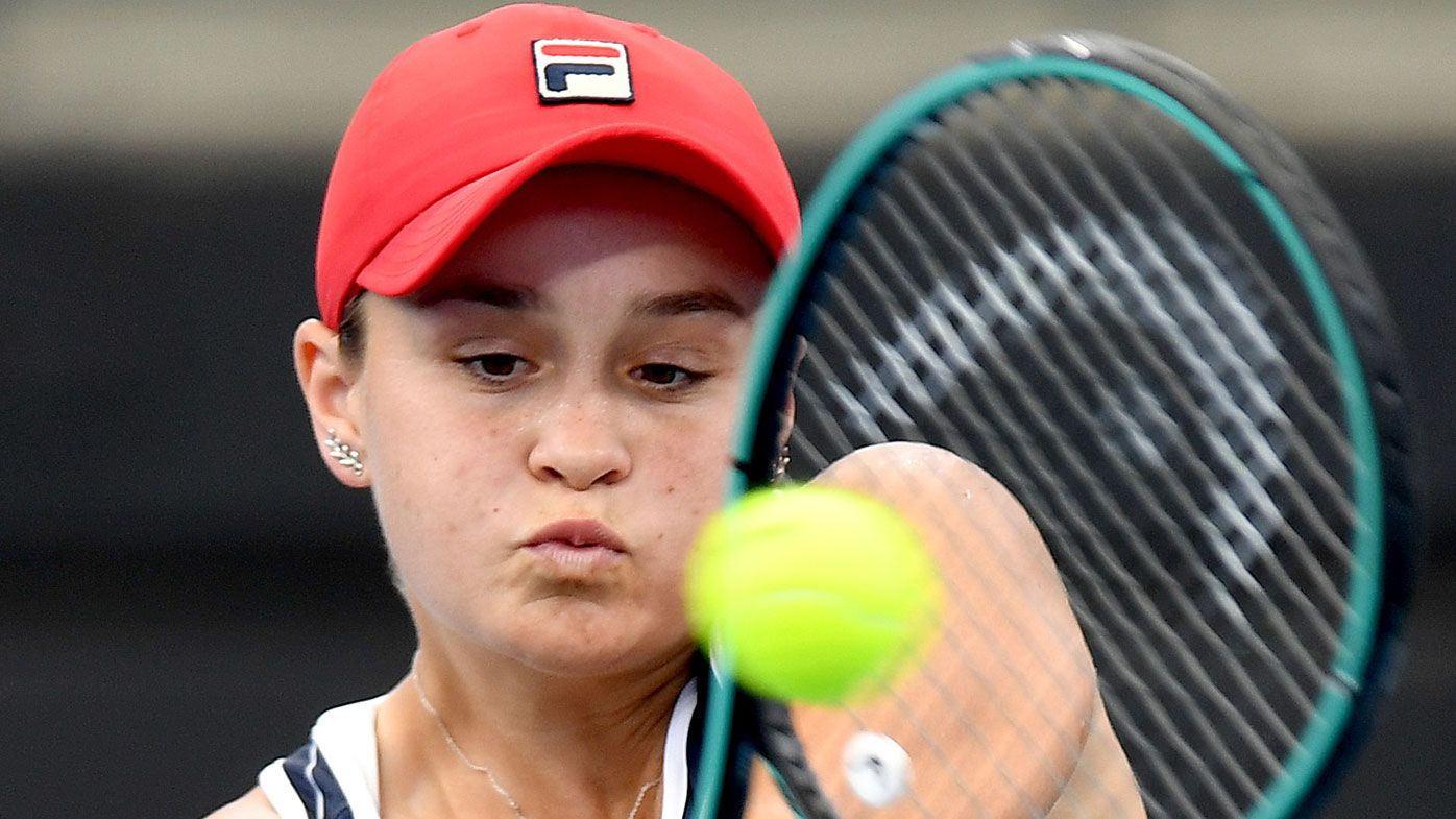 Ashleigh Barty's coach pinpoints defining moment in world No.1's tennis career