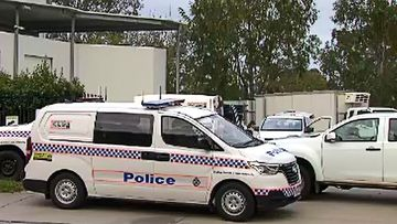 A man has been killed following a workplace incident south of Brisbane this morning.