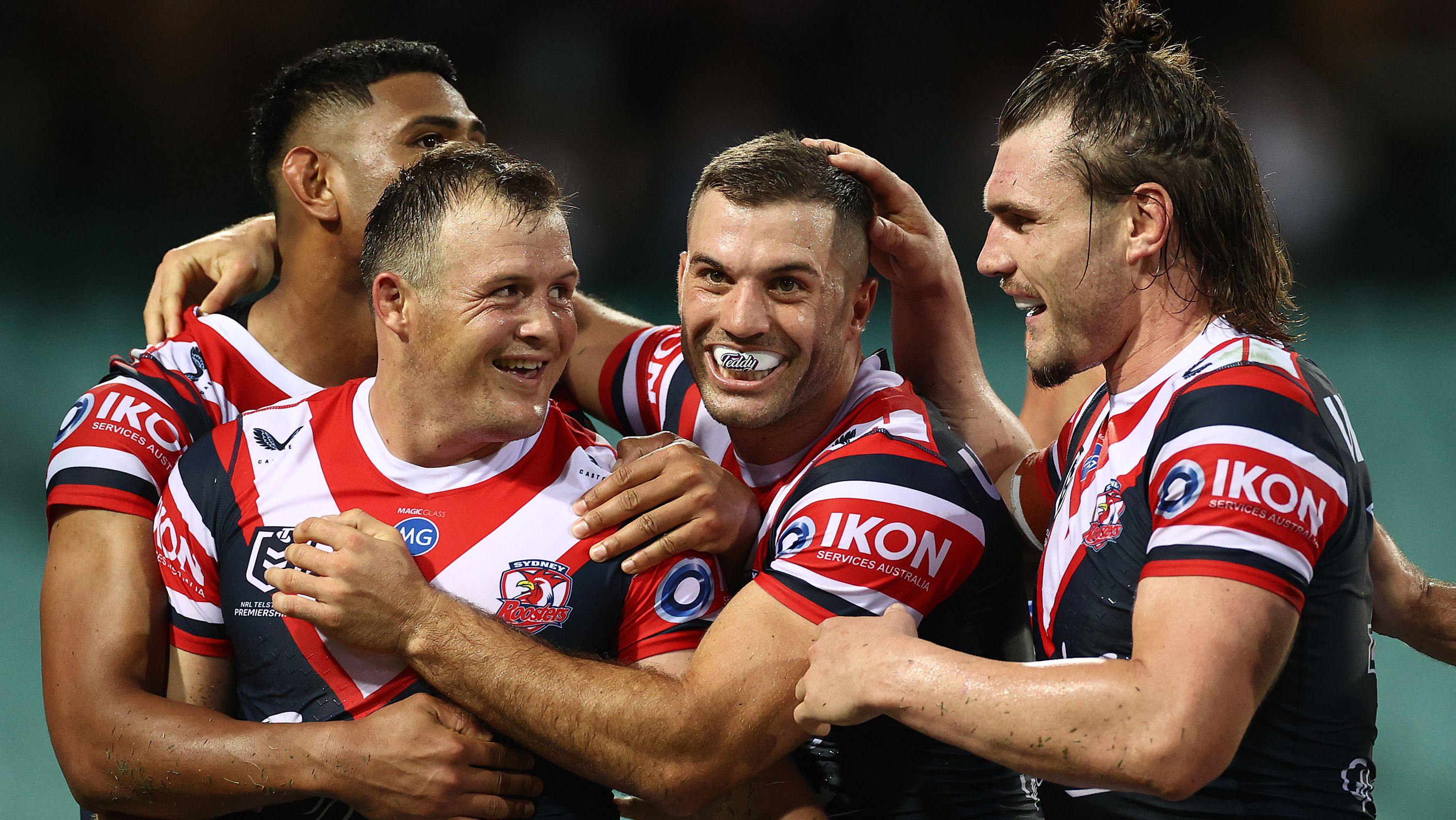 Sydney Roosters stars line up for hat-tricks in giant win over Manly Sea Eagles